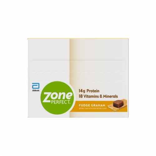 ZonePerfect Fudge Graham Nutrition Bars Perspective: left