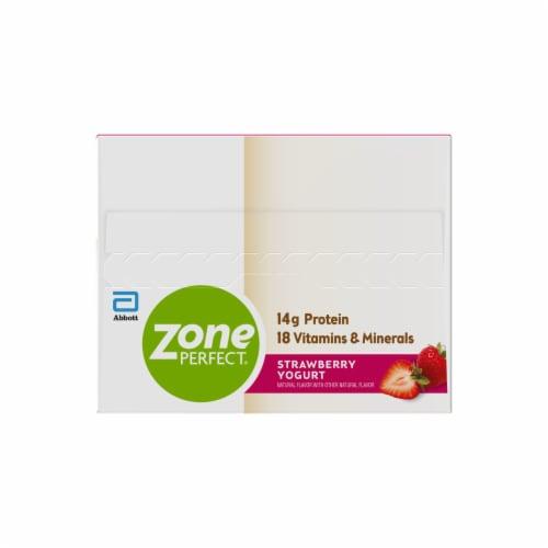 ZonePerfect® Strawberry Yogurt Nutrition Bars Perspective: left