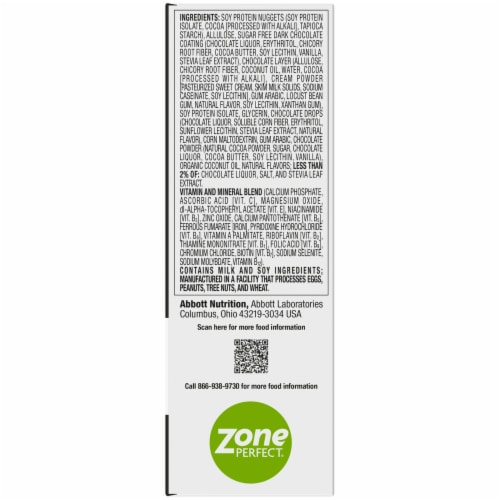 ZonePerfect Macros Chocolatey Cereal Protein Bars Perspective: left