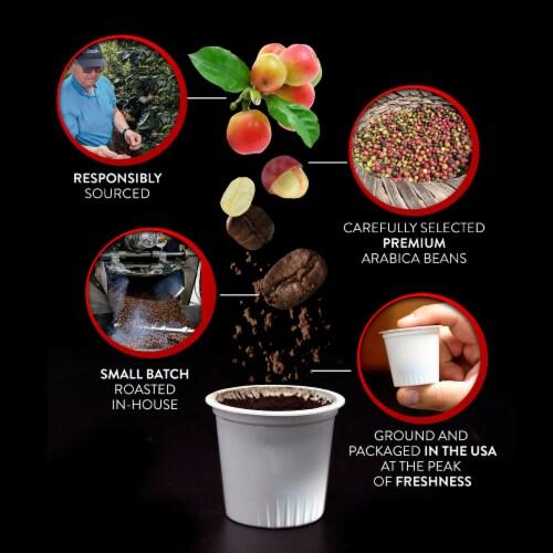 Brooklyn Bean Roastery Coffee Fuhgeddaboutit Single-Serve Cups Perspective: left