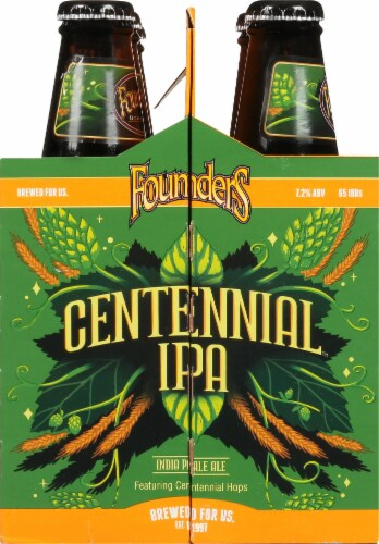 Founders Brewing Centennial IPA Perspective: left