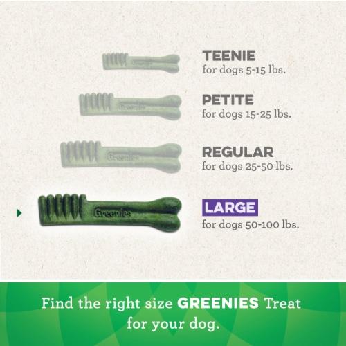 Greenies Original Large Dog Dental Treats Perspective: left