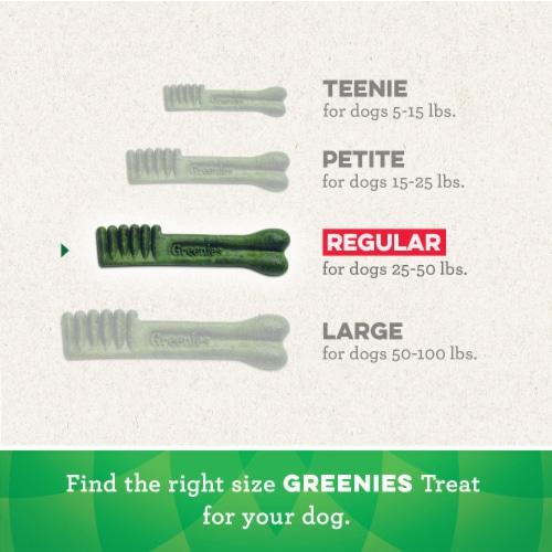 Greenies™ Original Regular Sized Dental Dog Treats Perspective: left