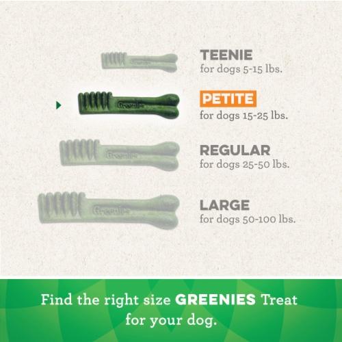 Greenies Original Petite Dog Dental Treats Perspective: left