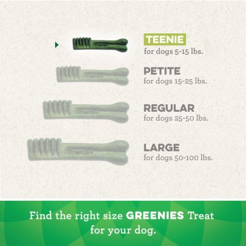 Greenies Original Teenie Dog Dental Treats Perspective: left