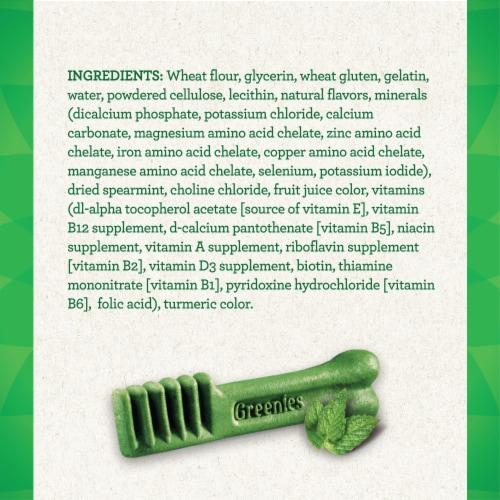 Greenies Fresh Regular Dental Dog Treats Perspective: left