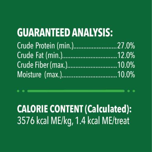 Feline Greenies Oven Roasted Chicken Flavor Dental Cat Treats Perspective: left