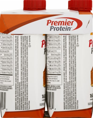 Premier Protein Limited Edition Pumpkin Spice High Protein Shake Perspective: left