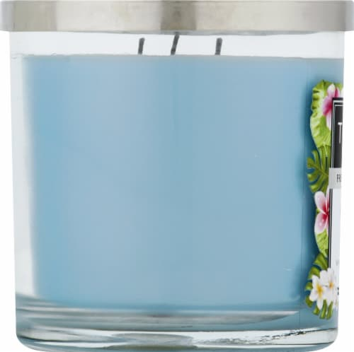 Tuscany Candle Ocean Mist Scented Jar Candle - Blue Perspective: left