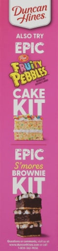 Duncan Hines Epic Cookies & Cream Flavored Cookie Mix Kit Perspective: left