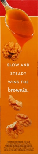Duncan Hines® Caramel Turtle Brownie Mix Perspective: left