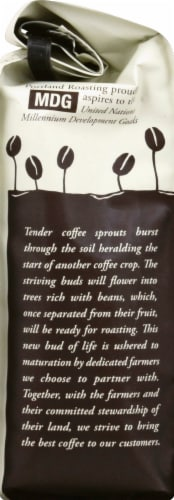 Portland Roasting Coffee Ground Organic French Roast Coffee Perspective: left
