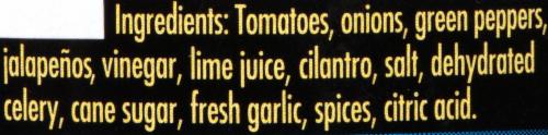 Garden Fresh Gourmet Wild Mild Salsa Perspective: left