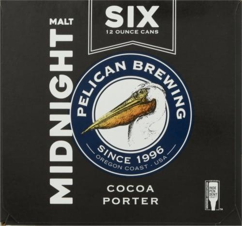 Pelican Brewing Company Midnight Malt Cocoa Porter Beer Perspective: left