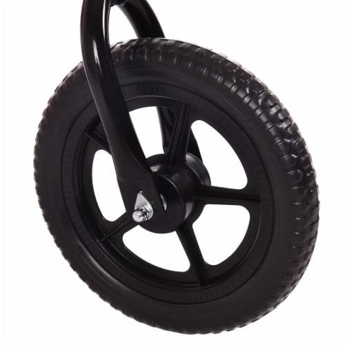Goplus 12'' Balance Bike Classic Kids No-Pedal Learn To Ride Pre Bike w/ Adjustable Seat Perspective: left