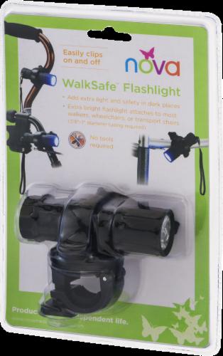 Nova WalkSafe Flashlight Perspective: left