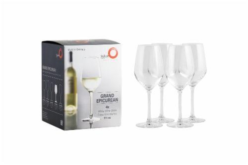 Stolzle Lausitz Grand Epicurean White Wine Glasses Perspective: left