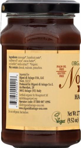 Rigoni di Asiago Nocciolata Organic Dairy - Free Hazelnut & Cocoa Spread Perspective: left