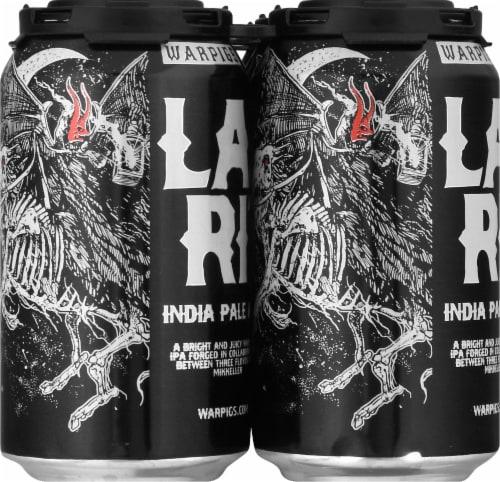 WarPigs Lazu Rite IPA Beer Perspective: left