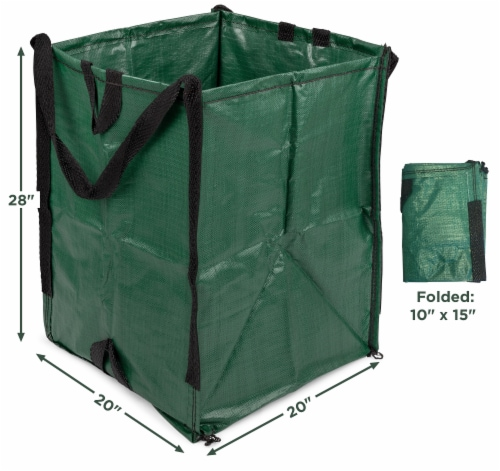 Halsted DuraSack Reusable Heavy-Duty Home and Yard Bag Perspective: left