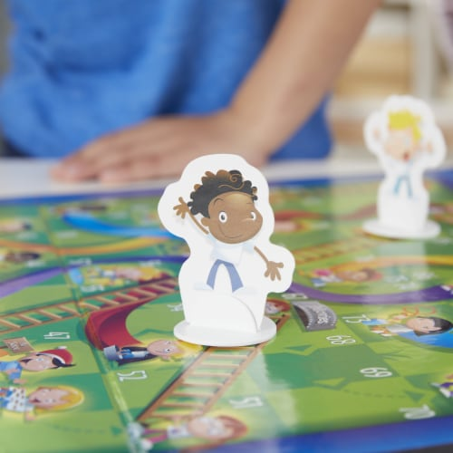 Hasbro Chutes and Ladders Game Perspective: left