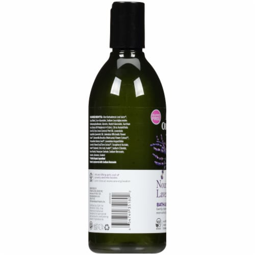 Avalon Organics Lavender Bath & Shower Gel Perspective: left