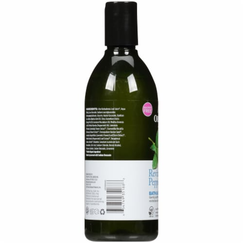 Avalon Organics Mint Bath and Shower Gel Perspective: left