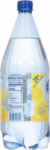 Crystal Geyser Sparkling Water with Lemon Perspective: left