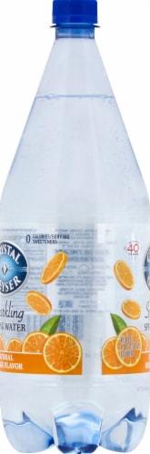 Crystal Geyser Orange Sparkling Mineral Water Perspective: left