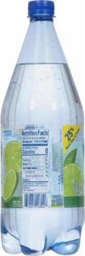 Crystal Geyser Lime Sparkling Mineral Water Perspective: left