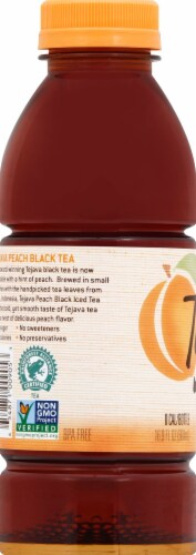 Tejava Unsweetened Peach Black Tea Perspective: left