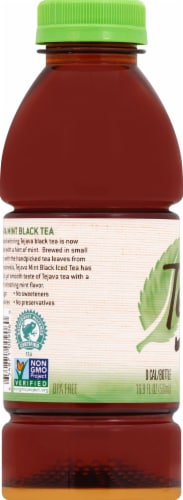 Tejava Unsweetened Mint Black Tea Perspective: left