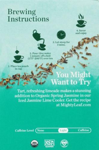 Mighty Leaf Jasmin Du Printemps Biologique Tea Sachets Perspective: left