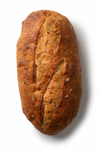 Izzio Lucky 7 Grain Bread Perspective: left
