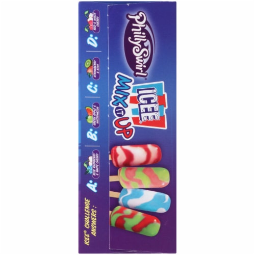 PhillySwirl MIX-it-Up ICEE Ice Pops Variety Pack Perspective: left