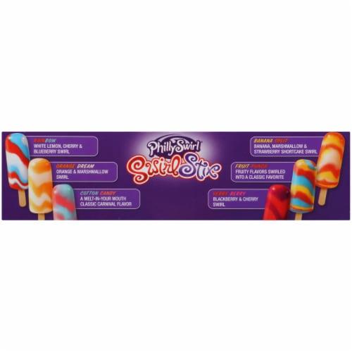 PhillySwirl Swirl Stix Frozen Dessert Variety Pack 12 Count Perspective: left