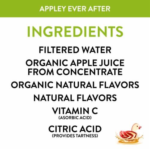 Honest Kids Organic Appley Ever After Juice Cartons Perspective: left
