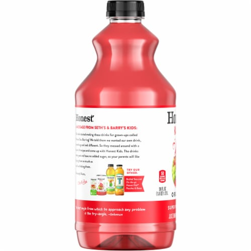 Honest Kids Organic Super Fruit Punch Perspective: left
