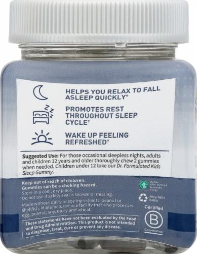 Garden of Life Dr Formulated Sleep Gummies Perspective: left