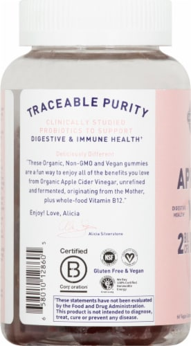 Garden of Life® MyKind Organics Apple Cider Vinegar Probiotic Gummies Perspective: left