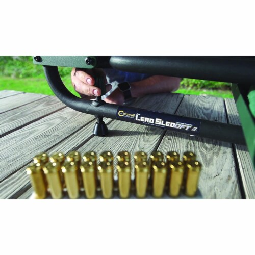 Caldwell Lead Sled 2 Outdoor Range Adjustable Ambidextrous Rifle Shooting Rest Perspective: left