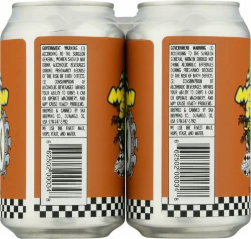 Ska Brewing Mexican Logger Lager Perspective: left
