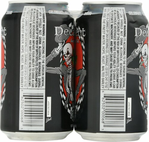 Ska Brewing Co. Decadent Imperial IPA Perspective: left