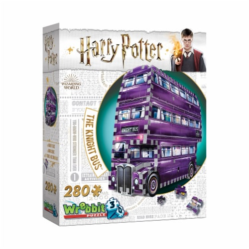 Wrebbit Harry Potter Collection The Knight Bus 3D Puzzle Perspective: left