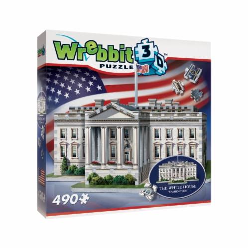 Wrebbit The White House 3D Puzzle Perspective: left