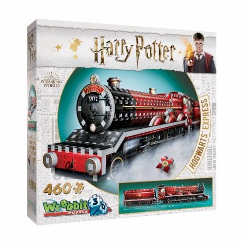 Wrebbit Harry Potter Collection Hogwarts Express 3D Puzzle Perspective: left