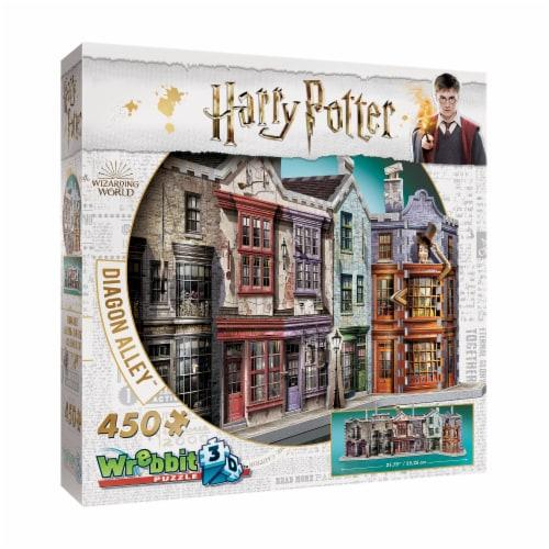 Wrebbit Harry Potter Collection Diagon Alley 3D Puzzle Perspective: left