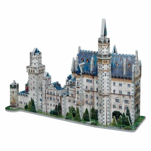 Wrebbit Neuschwanstein Castle 3D Puzzle Perspective: left