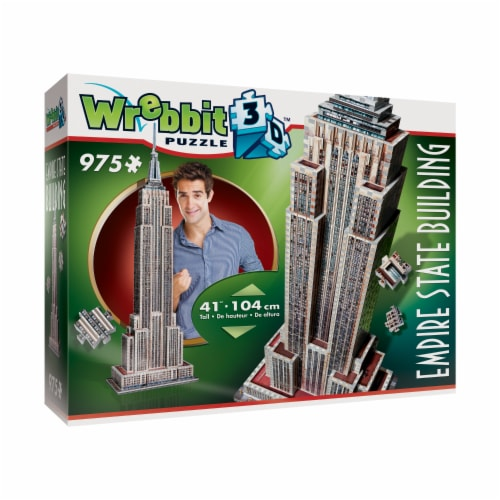 Wrebbit Empire State Building 3D Puzzle Perspective: left
