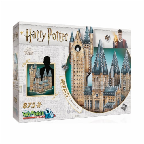 Wrebbit Harry Potter Collection Hogwarts Astronomy Tower 3D Puzzle Perspective: left